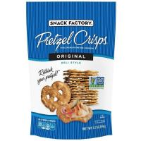 Print a coupon for $1 off any two bags of Snack Factory Pretzel Crisps