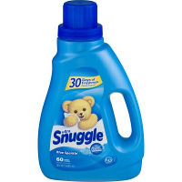 Print a coupon for $0.50 off a 50oz. bottle of Snuggle Blue Sparkle Fabric Softener