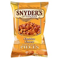 Save $0.55 on one bag of Snyder's of Hanover Flavored Pretzel Pieces