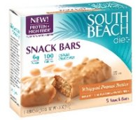Save $2 on a package South Beach Diet Snack Bars
