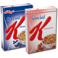 Print a coupon for $1 off any two boxes of Kellogg's Special K Cereal