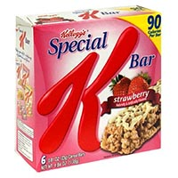 Save 50 cents on Kellogg's Nutri-Grain Fruit + Oat Harvest Bars and/or Kellogg's Special K Moments