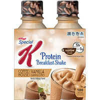 Save $2 on two Kellogg's Special K Protein Shakes or Meal Bars