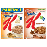 Save $1 on any two Kellogg's Special K Cereals