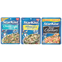 Save $1 on four StarKist Tuna Pouch products