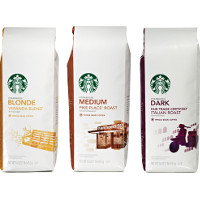Save $4 on any three Starbucks Packaged Coffee products