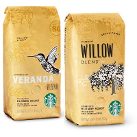 Save $2 on any two Starbucks Blonde Packaged Coffee Products
