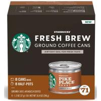 Print a coupon for $2 off one box of Starbucks Fresh Brew coffee