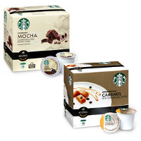 Save $3 on any two boxes of Starbucks Flavored K-Cup Pods