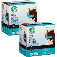 Save $3 on any two boxes of Starbucks Iced Coffee K-Cup Pods