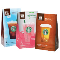 Save $2.25 on any two Starbucks VIA Items, 5ct or larger