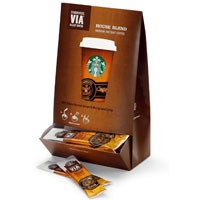 Save $1 on one package of Starbucks VIA Instant Coffee