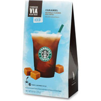 Print a coupon for $1 off one package of Starbucks VIA Iced Coffee