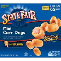 Print a coupon for $0.75 off one box of State Fair Corn Dogs