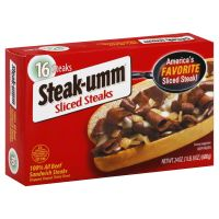 Save $1 on any all beef Steak-umm
