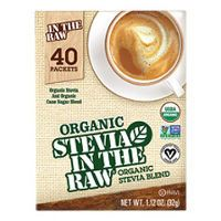 Print a coupon for $0.75 off a 40 count packet box of Organic Stevia In The Raw