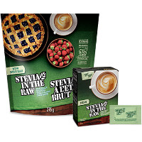 Save $1 on one Stevia In The Raw 100ct Packet Box or 9.7oz Bakers Bag