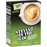 Print a coupon for $0.75 off one Stevia In The Raw 50 or 100 count packet box