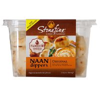Print a coupon for $0.50 off a package of Stonefire Naan Dippers