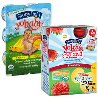 Print a coupon for $1 off any Stonyfield Organic YoKids, YoBaby or YoTot multi-pack