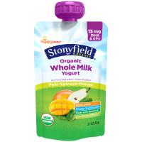 Print a coupon for $1 off three Stonyfield Organic Whole Milk or YoKids 3.5 ounce single serve pouches