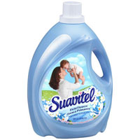 Print a coupon for $0.50 off one Suavitel Liquid Fabric Softener, 44 oz. or larger