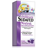 Print a coupon for $2 off two Children's Sudafed products