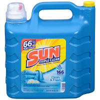 Print a coupon for $1.50 off one 250oz. jug of Sun Fresh + Clean Liquid Laundry Detergent
