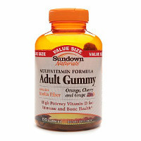 Print a coupon for $2 off Sundown Naturals Gummy Vitamins