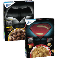 Save $0.75 on one limited edition box of Superman V Batman Cereal