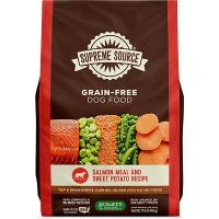 Print a coupon for $3 off one bag of Supreme Source Grain-Free Dog Food