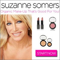 Get Up To 67% Off Select Bundles at SuzanneSomers.com - Organic Make-Up That's Good For You
