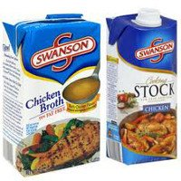 Print a coupon for $0.50 off two cartons of Swanson Broth or Stock