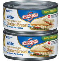 Save $0.50 on two cans of Swanson Premium Chunk Chicken Breast