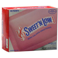Save $0.50 on Sweet'N Low, 100 count box or larger
