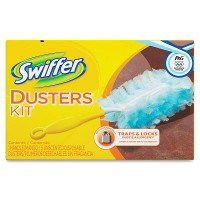 Print a coupon for $1 off a Swiffer Duster Starter Kit