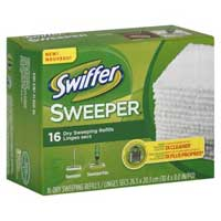 Save $1 on one Swiffer Sweeper Refill