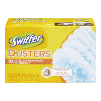 Print a coupon for $0.50 off any Swiffer Duster Refill