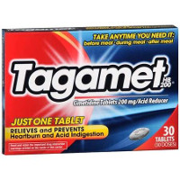 Print a coupon for $2 off Tagamet HB 200, 30 count or higher