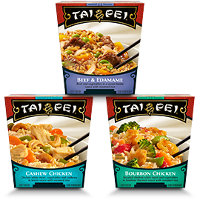 Save $1 on two Tai Pei Single Serve Entrees