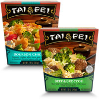 Save $1 on any two Tai Pei Single Serve Entrees