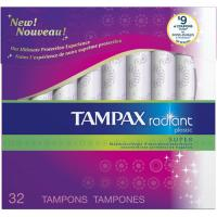 Save $2 on two Tampax Radiant Tampon products