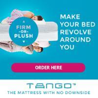 Save $200 on any Tango Mattress - Put Sleepless Nights to Rest