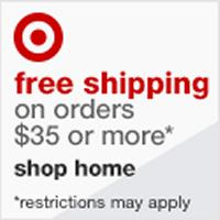 Get free shipping on all orders $35 or more at Target.com