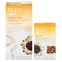 Save $1.50 on Tazo Chai Chai Latte K-Cup pods