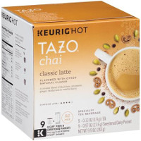 Print a coupon for $1.50 off Tazo Chai Latte K-Cup pods