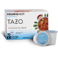 Save $1.50 on any box of Tazo Iced Tea K-Cup Pods
