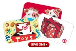 Save on all Target Gift Cards at eBay - Makes a great birthday gift