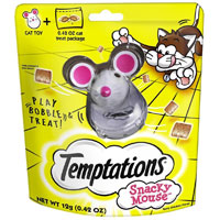 Save $3 on one Temptations Snacky Mouse Toy