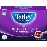 Print a coupon for $1 off a box of Tetley Tea, any variety